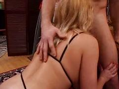 French Gina Vice buttfucked on a bed