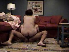 His Big cock totally in my ass