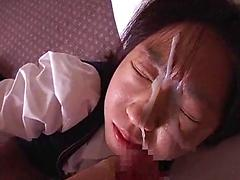 Another Doll Recieves Messy Facial