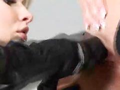 Two Girls Just Like It Rough And With Huge Dildos