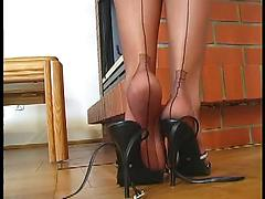 Nylon Stocking Teasing