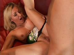 Busty Milf Lisa DeMarco Sucks And Fucks Alex Saners Nicely