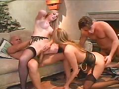 Two Guys Swap Partners And Fuck