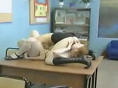 A Russian Student Gets Double Teamed And More
