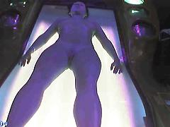 Spy Cam Records Hot Girl Tanning And Changing
