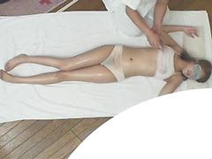 Asian Gets Massage And Then Sucks Big Asian Cock