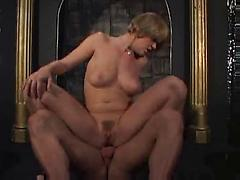 Cute Innocent Blond Takes Dungeon Master's Cock