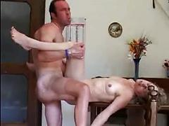 Old Horny Grandma Takes Big Cock And Gets Fucked