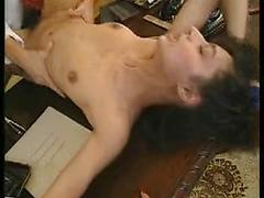 Lucky Guy Gets Three Maids To Spank And More