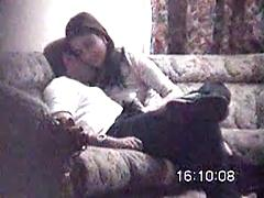 Hot Asian Girl Gets Fucked By Her Man On Couch