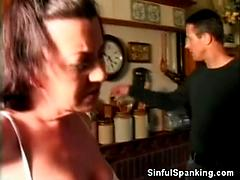Skinny Mature Milf Gets Whipped And Spanked