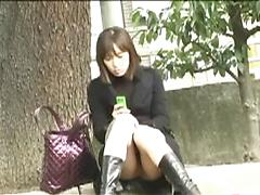 Upskirt Shots Of A Exhibitionist Asian Babe