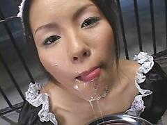 Asian Nurse Swallows Boatloads Of Cum And Loves It