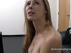 Backroom Casting Couch Anal Fuck And Facial