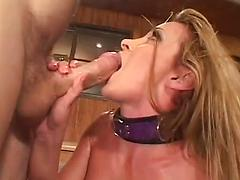 Submissive Housewife Ass And Tit Fucks With Passion