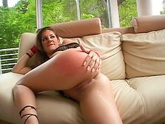Girl Bends Over A Lets A Stud Fuck Her In The Ass