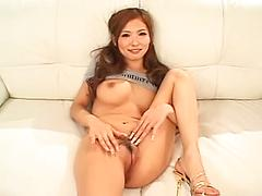 Sexy Asian Gets Her Pussy Fingered Fucked