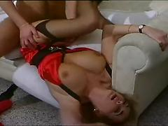 Vintage Porn Of A Blonde Milf In Sexy Lingerie
