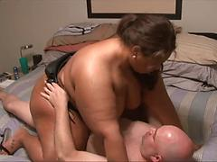 Hot Bbw Rides Her Man And Takes It From Behind