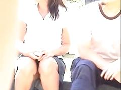 Outside An Upskirt Of A Pantiless Asian Is Found