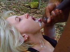 Huge Black Cock Destroys Tight White Pussy