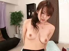 Asian Teen In Stockings Gets Toy And Cock In Her Hairy Snatch