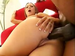 Sexy kayla marie gets fucked hard by a big black dick