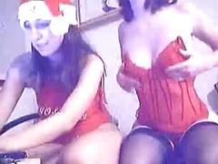Christmas webcam sluts