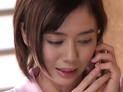 Stunning Asian teen Aimi Yoshikawa has sex with a nasty okd dude