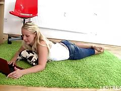 Playsome teen gets naughty and goes hardcore with her guy