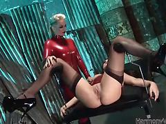 Megan Coxxx and Rebecca More get excited of deep insertions