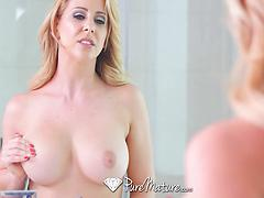 Hot MILF Cherie Deville Riding Him To Cumshot