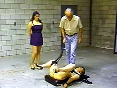 Retro pussy whipping