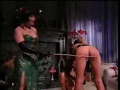 Stockings Lesbians and Spankings