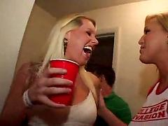 Teens fucked and abused in front of everyone in the college